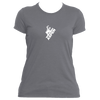 Aspen, Colorado Snowboarding - Women's Moisture Wicking T-Shirt