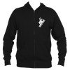 Beaver Creek, Colorado Snowboarding - Men's Full-Zip Hooded Sweatshirt/Hoodie