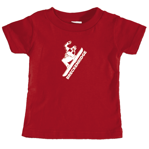Breckenridge, Colorado Snowboarding - Infant T-Shirt