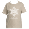 Breckenridge, Colorado Snowflake - Youth/Kid's T-Shirt