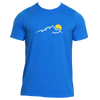 Aspen, Colorado Mountain Sunset - Men's Moisture Wicking T-Shirt