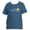 Boulder, Colorado Mountain Sunset - Youth/Kid's T-Shirt