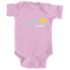 Boulder, Colorado Mountain Sunset - Infant Onesie/Bodysuit