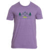 Alta, Utah Mountain & Trees in Green - Men's T-Shirt