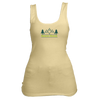 Beaver Creek, Colorado Mountain & Trees in Green - Women's Tank Top