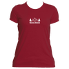 Beaver Creek, Colorado Mountain & Trees - Women's Moisture Wicking T-Shirt
