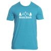 Beaver Creek, Colorado Mountain & Trees - Men's T-Shirt