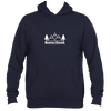 Beaver Creek, Colorado Mountain & Trees - Men's Hooded Sweatshirt/Hoodie
