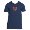 Boulder, Colorado Tree Sunset Badge - Men's T-Shirt