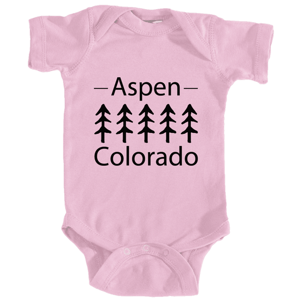 Aspen, Colorado Trees - Infant Onesie/Bodysuit