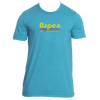 Aspen, Colorado Vintage Cross Skis - Men's T-Shirt