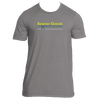 Beaver Creek, Colorado Vintage Cross Skis - Men's T-Shirt