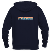 Aspen, Colorado Retro Mountain - Women's Full-Zip Hooded Sweatshirt/Hoodie