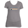 Beaver Creek, Colorado Retro Mountain -  Women's Tri-Blend T-Shirt