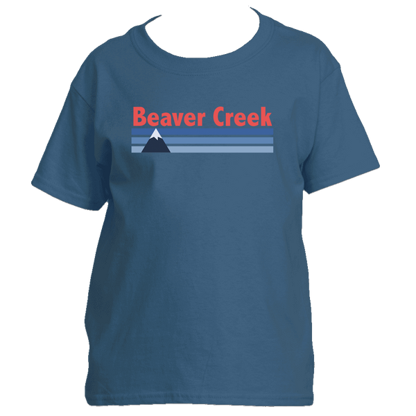 Beaver Creek, Colorado Vintage Mountain - Youth/Kid's T-Shirt
