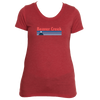 Beaver Creek, Colorado Vintage Mountain - Women's Tri-Blend T-Shirt