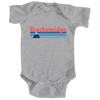 Breckenridge, Colorado Vintage Mountain - Infant Onesie/Bodysuit
