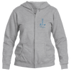Aspen, Colorado Vintage Snow Ski - Women's Full-Zip Hooded Sweatshirt/Hoodie