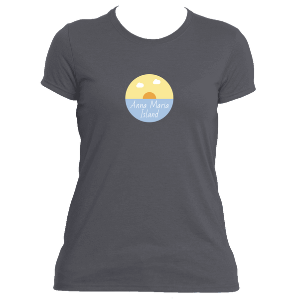 Anna Maria Island Ocean Sunset - Florida Women's Moisture Wicking T-Shirt