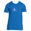 Aspen, Colorado Camping Hand Drawn - Men's T-Shirt