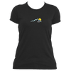 Aspen, Colorado Mountain Sunset - Women's Moisture Wicking T-Shirt