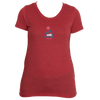 Aspen, Colorado Mountain & Sun -  Women's Tri-Blend T-Shirt