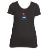 Beaver Creek, Colorado Mountain & Sun -  Women's Tri-Blend T-Shirt