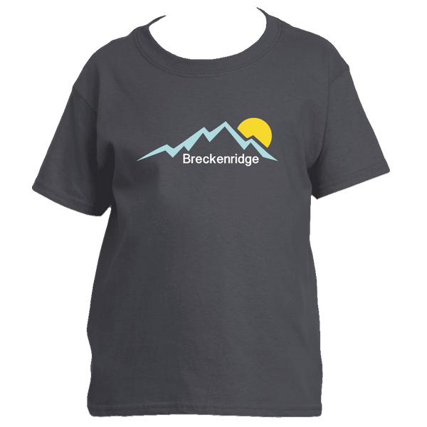 Breckenridge, Colorado Mountain Sunset - Youth/Kid's T-Shirt