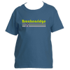 Breckenridge, Colorado Vintage Cross Skis - Youth/Kid's T-Shirt