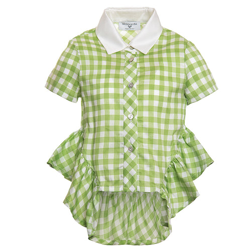 Monnalisa - Girl Blouse, Green
