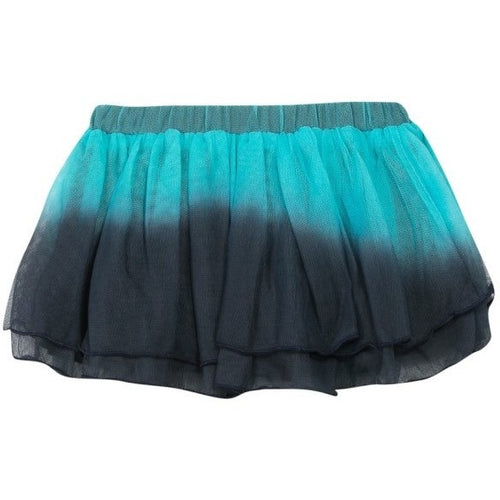 3pommes - Baby Girls Navy Star Tulle Skirt - 3pommes - Skirts - blue and navy skirt for infant girls very soft ruffles