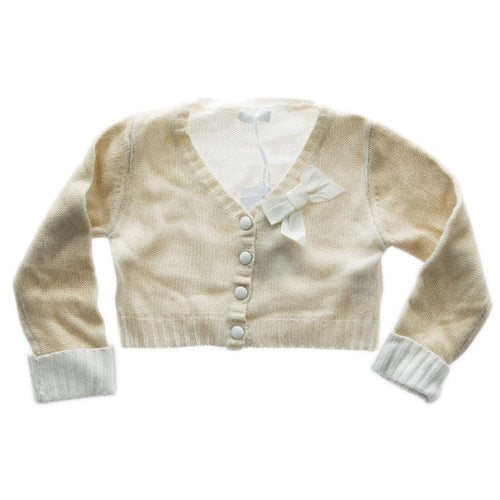 She.Ver Chic by Fun&Fun - Baby Girls Nursery Sweater, Gold