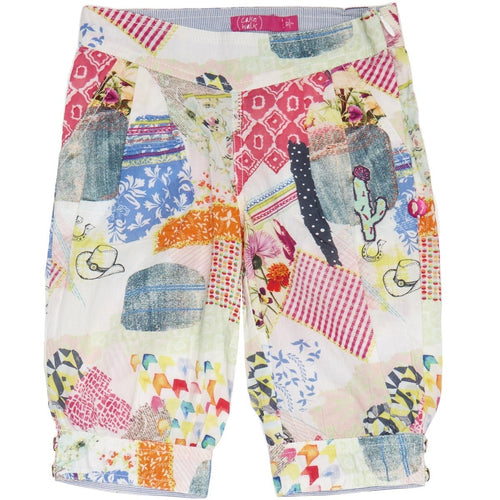 Cakewalk - Girls Capri Summer Cactus Pants, Debby