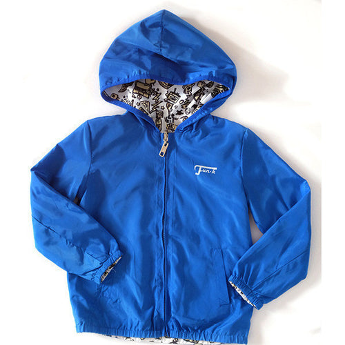 Fun-K - Boys Light Windbreaker, Blue - Fun-K - Jackets - www.kidinvogue.com