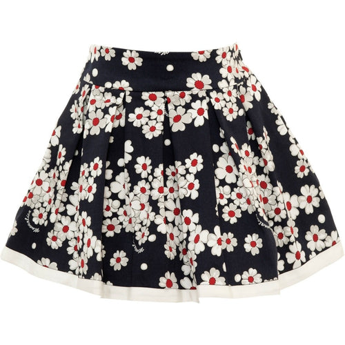 European brand skirt for little girl who loves fashion and flowers