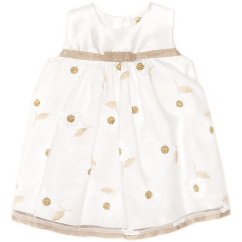Monnalisa - Baby Girls Flower Tulle Dress