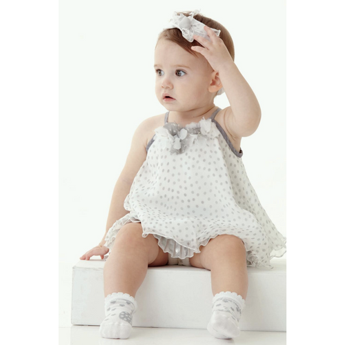 Monnalisa - Baby Girls Silk Dress