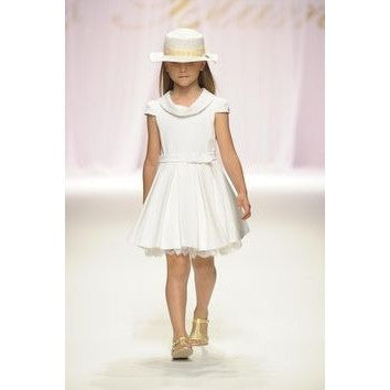 Blumarine Baby - Baby Girls White Dress - 36M