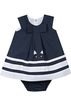 Catimini - Baby Girl Cat Graphic City Dress With , Navy