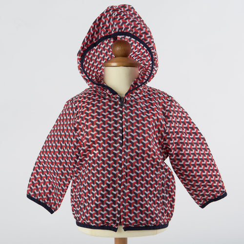 Hitch-Hiker by Monnalisa - Baby Boys Wind Jacket, Red - 6M
