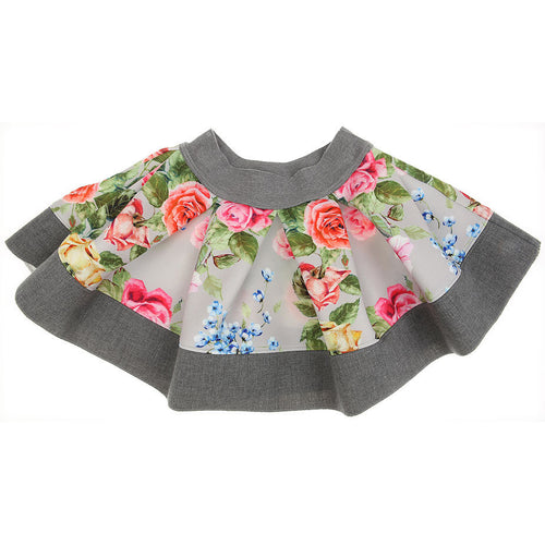 Monnalisa baby clothing spring pattern with flowers girl