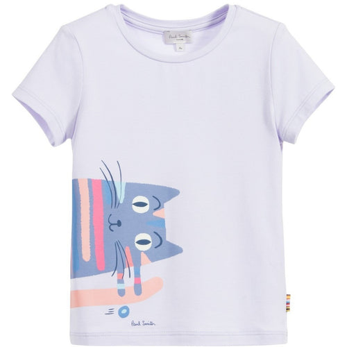 cute top for girl by Paul Smith great designer of summer apparel for kids