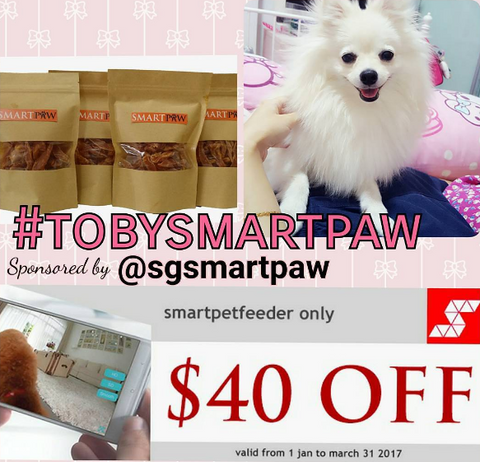 SmartPaw Christmas and New Year Giveaway