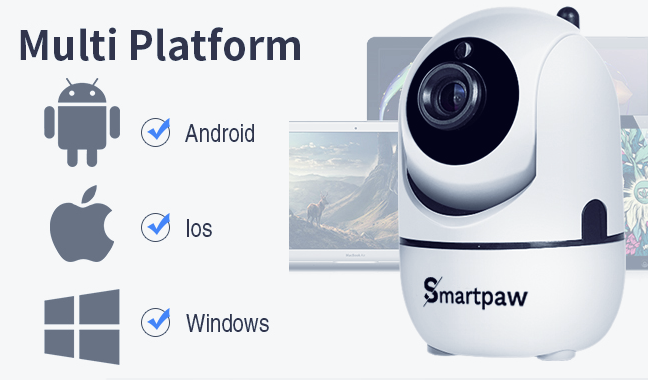 SmartPaw - Smart Pet Camera - Multi Platform
