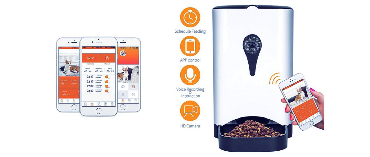 Smart Pet Feeder ( Basic, Advanced, Premium ) - Feeding Schedule
