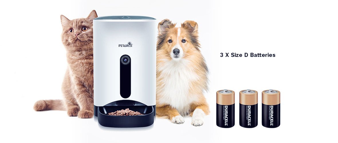 Smart Pet Feeder ( Basic, Advanced, Premium ) Dual Power Supply