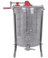 Honey Extractor - 2 frame Manual extractor with clear barrel