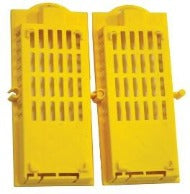Queen Mail Cage - Plastic yellow - 10 per pack