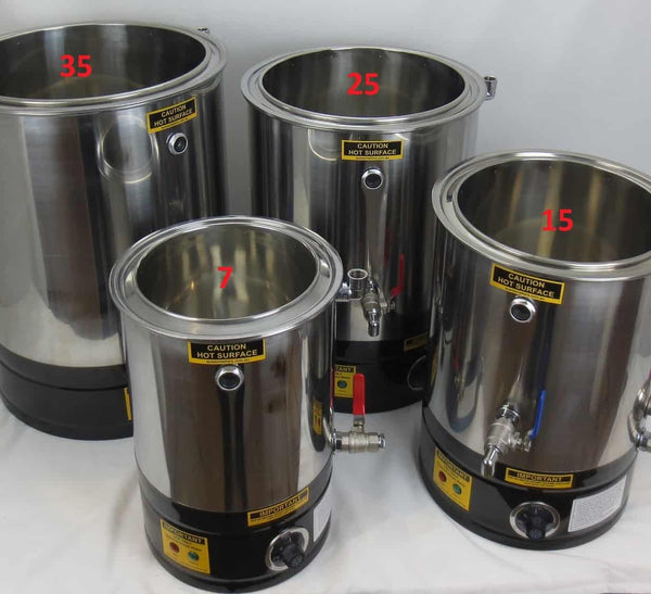 Wax Melter & Cappings Reducer & Honey Decandy Digital 35L