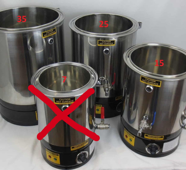 Wax Melter & Cappings Reducer & Honey Decandy Digital 25L